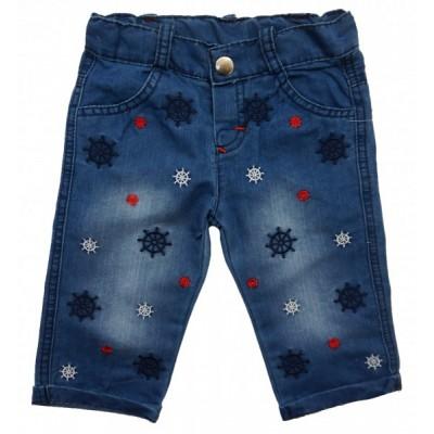9738 Капри джинсовые для мальчиков Mini'a