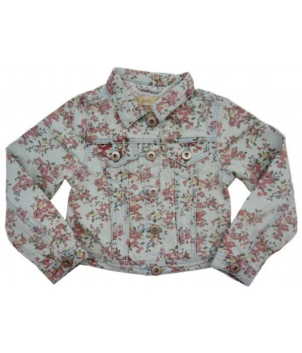 Д-1864 Куртка джинсовая для девочек Ministars