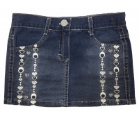 10611 Юбка джинсовая для девочек Mini'a