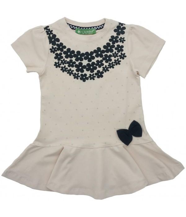 E-2295-1 Платье для девочек Cichlid