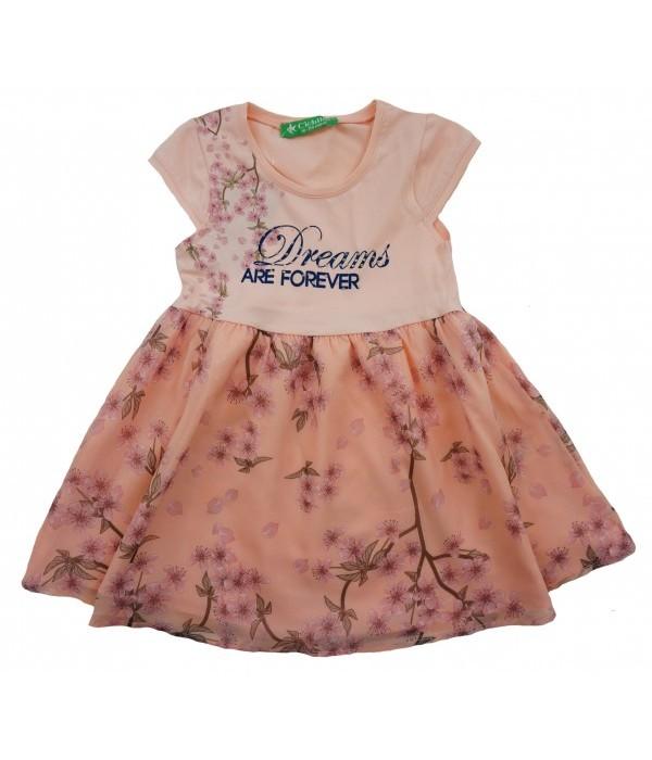 2002-011-1 Платье для девочек Cichlid